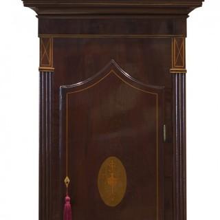 George III Mahogany Longcase clock by Stephen Hurst, Liverpool
