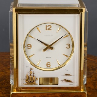 Marina Atmos Clock by Jaeger-Le-Coultre