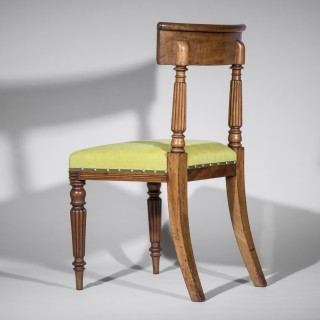 Six Regency Dining Chairs, in the manner of George Bullock