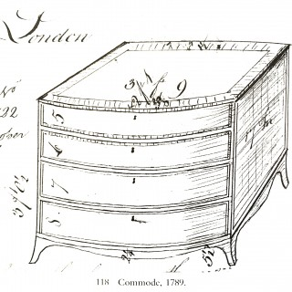 George III Gillows Chest of Drawers