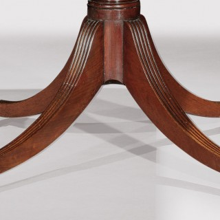 A fine early 19th Century Three Pedestal Dining Table