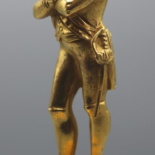 A Well-Cast Mid 19th Century Ormolu Figure of Napoleon