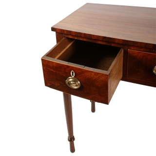 Georgian Bow Front Side Table