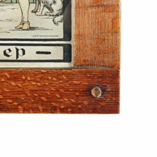 Arts & Crafts Oak Framed Print