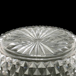19th Century Cut Crystal Bowl