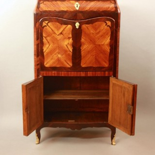 Small 18th Century Louis XV Kingwood Fall Front or Ladies' Desk