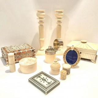 Selection of Antique Ivory