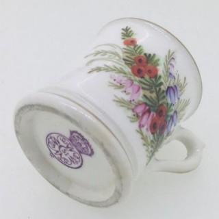 Miniature Royal Worcester Miniature Mug.