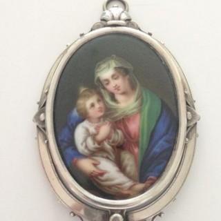 Madonna and Child Madonna Plaque.