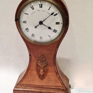 Satinwood Grant of London Clock