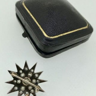 Diamond Star Brooch.