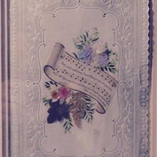 Antique Valentine Day Card.