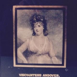 Viscountess Andover Engraving.