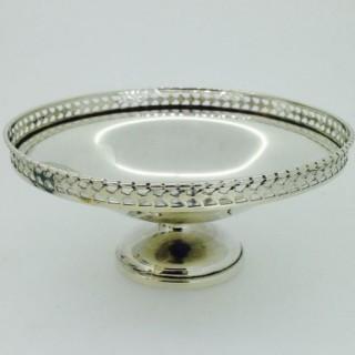 Small Silver Dish.