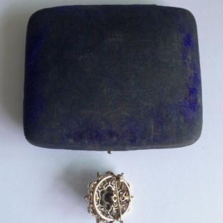 Victorian Diamond Brooch.