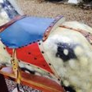 Antique Large Rocking Horse.