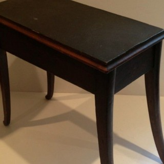 Antique Shoe Shine Stool.