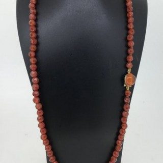 Vintage Carnelian Necklace.