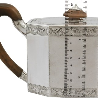 Sterling Silver Teapot - Antique Georgian (1787)