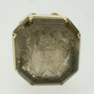 Antique 18ct Gold Seal Fob.
