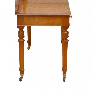 Rare Victorian Satinwood Dressing Table