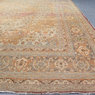 Large Tabriz carpet