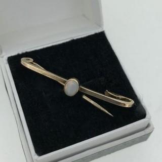 Antique Opal Pin.