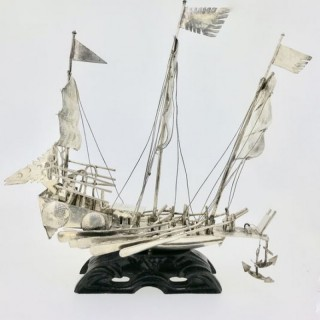 Large Chinese Junk Boat