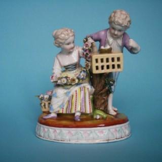 Augustus Rex figure group.