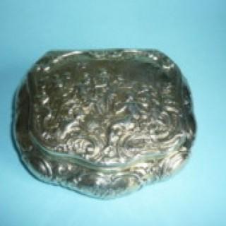 Silver Gilt Box by Bernard Muller.