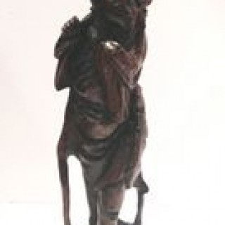 C19th Chinese Rosewood Figure