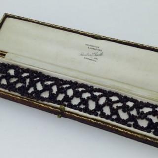 Victoria Garnet Bracelet,
