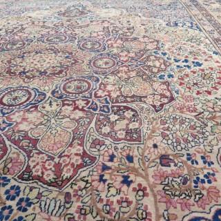 Early Laver KIrman carpet