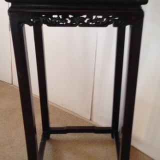 Antique Chinese Rosewood Table Stand.