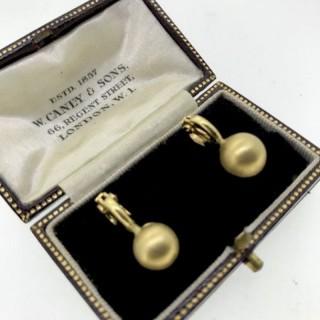 18ct Gold Clip Earrings
