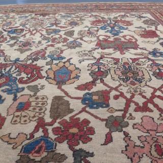 Rare Ziegler Mahal carpet