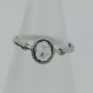 Platinum and Diamond Ring.
