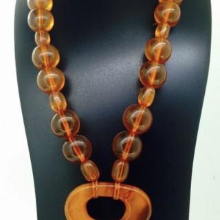 Vintage Amber Necklace.