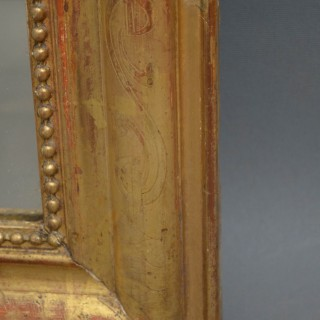 1881 French Giltwood Wall Mirror