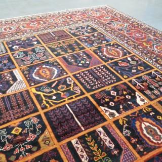 Striking large Baktiar carpet