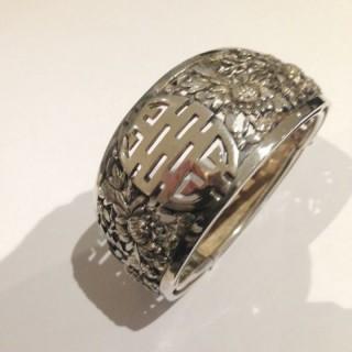 Chinese Silver Bangle.