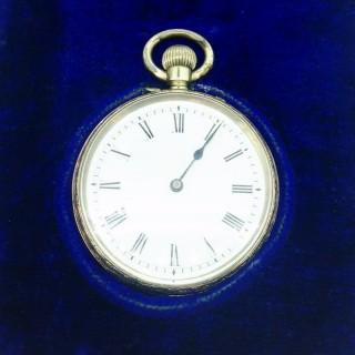 Baume Silver Pocket Watch.