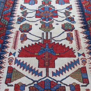 Antique Hamadan rug