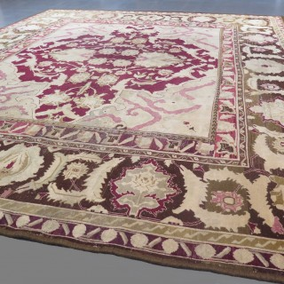 Striking Agra carpet
