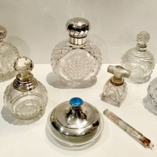 Selection of Antique Scent Bottles etc.
