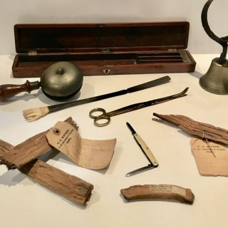 Selection of Antique Curios