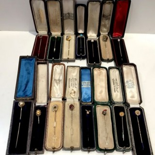 Selection of Antique Stick Pins