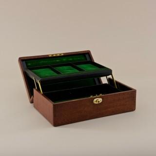 Crocodile Skin Jewel Box