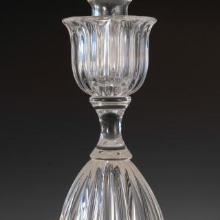 Pair of Seguso candlesticks 3 by John Loring of Tiffany & co.