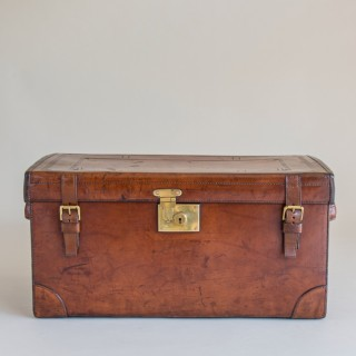 Peal and Co. Leather Boot Trunk